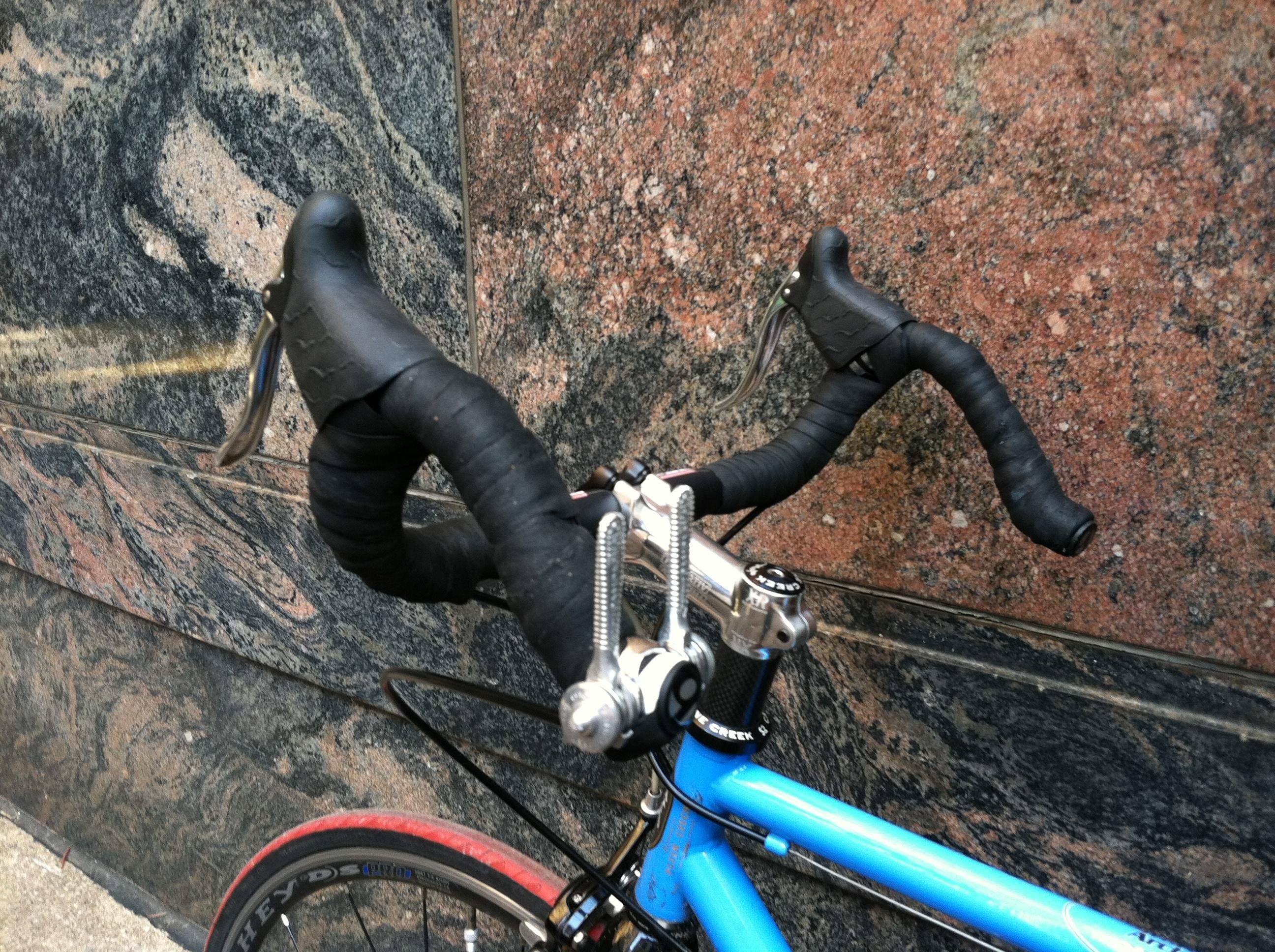 Bikes Handlebar Brake Facts Hooded brake levers and Campy